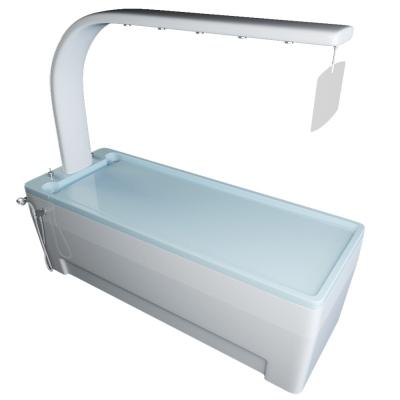 TALASSO VICHI кушетка для грязелечения с опцией душ виши