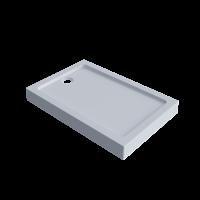 Піддон душовий акриловий LEX 120x90(80)x14 см