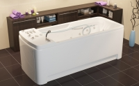 """AQUILON"" bathtub with underwater massage"