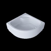 Піддон душовий акриловий BORA 90х90х38 см