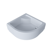 Corner shower tray BREEZE 90х90х38 sm