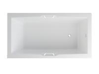 AURORA ванна с ручками
