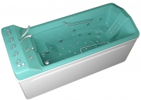 """GEYZER"" bathtub with underwater massage"